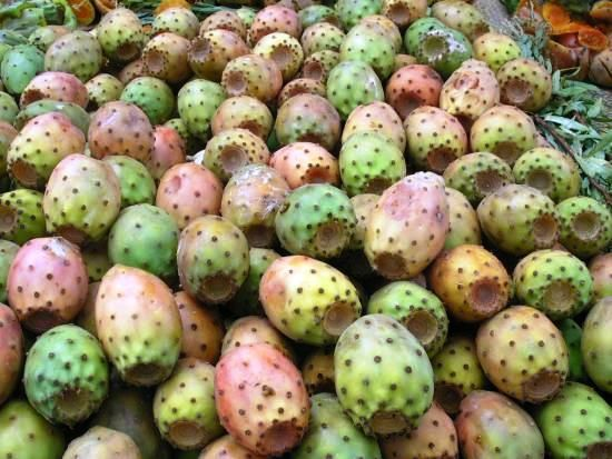 Prickle pears .... delicious! http://www.dreamsicilyvillas.com/guide/sicily-gastronomy/