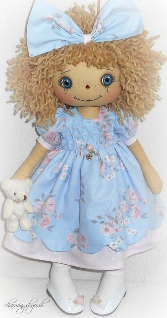 shabby chic  Annie ♥ by charmingsbycmh: AVAILABLE ANNIE DOLLS