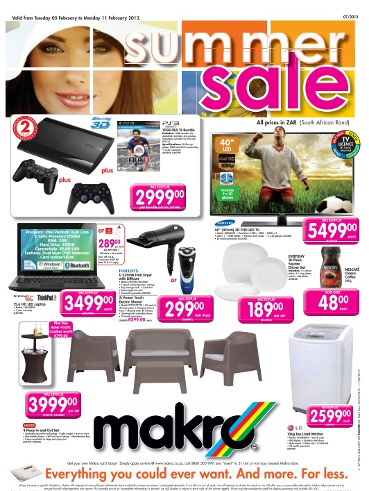 Awesome specials on stuff for the house from #Makro