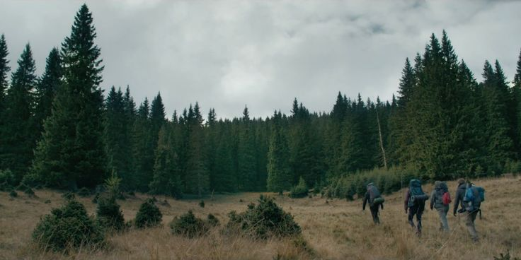 'They should've gone to Vegas' The Ritual is a 2017 British horror film directed by David Bruckner (Southbound; V/H/S; The Signal) from a screenplay by Joe Barton, based on Adam N…