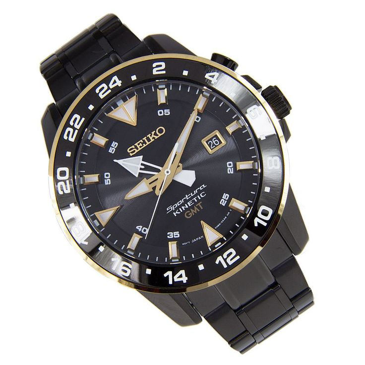 Chronograph-Divers.com - Seiko Sportura Kinetic GMT Watch SUN026P1, S$402.60 (http://www.chronograph-divers.com/seiko-sportura-kinetic-gmt-watch-sun026p1/)