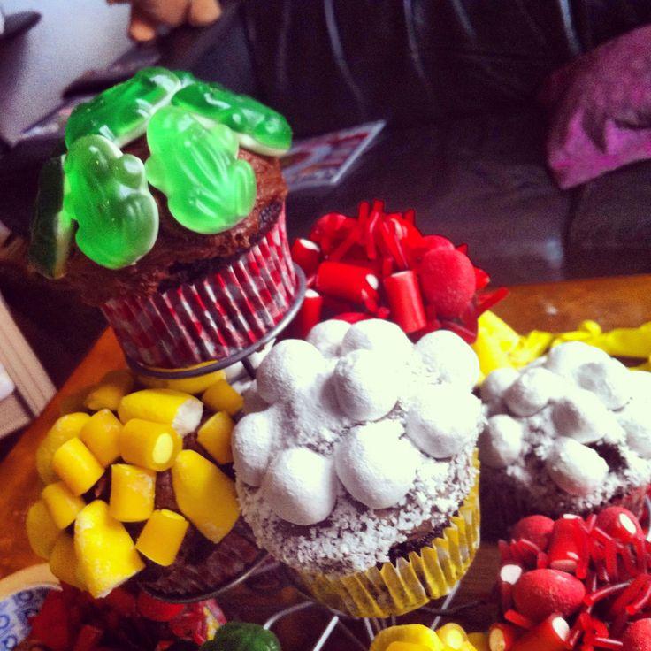 Oeteldonkse carnavals cupcakes