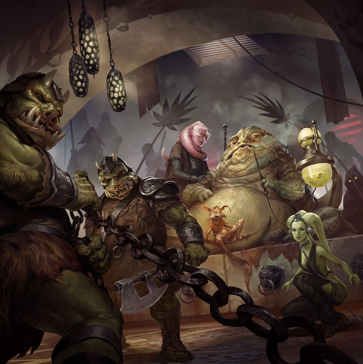 Imperial Assault: Jabba's Realm by michalivan.deviantart.com on @DeviantArt