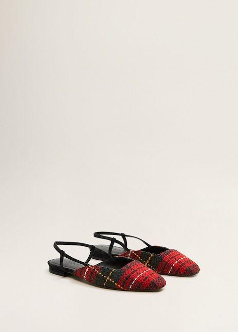 12a684da062 Tweed slingback shoes - Women