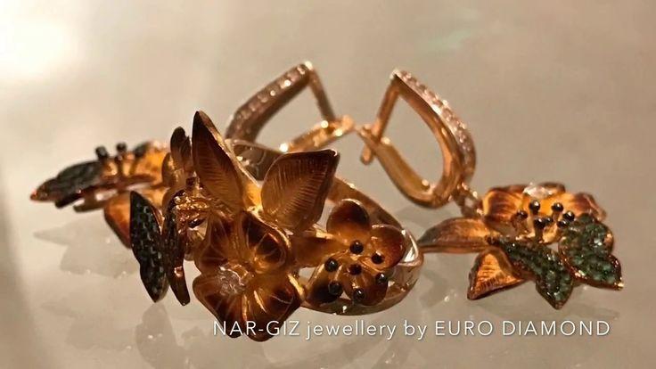 NAR-GIZ jewellery by EURO DIAMOND Комплект 585 пробы; 14,34 грамм; 0,26 карат бриллиантов; 1 500 долларов. 💎 nar-giz jewellery by EURO DIAMOND 💎 адрес: Баку, ул. Низами, 63А ( напротив ЦУМ-а )  📱 WhatsApp: +99450 214 81 82  📧 nargiz.jewellery@gmail.com http://instagram.com/nar_giz.jewellery http://facebook.com/nargiz.jewellery http://vk.com/nargiz.jewellery