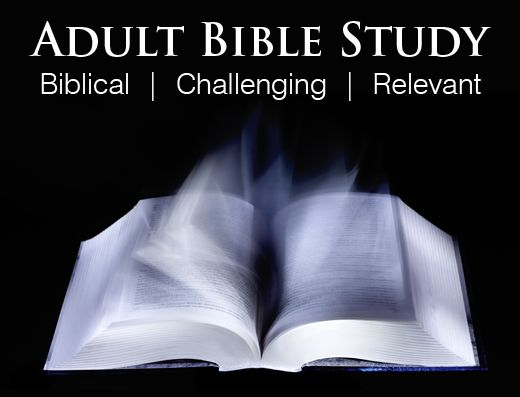 Not Bible study topics for adults something