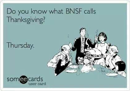 BNSF railroad life.... Too true. #RRlife