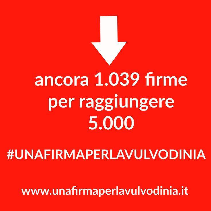 Che cosa stai aspettando? + di 4 MLN di italiane  nn sono riconosciute dal SSNI FIRMA ORA http://chn.ge/2elOwav