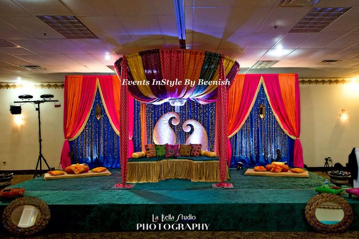 Mehndi Decoration Package : Best images about mehndi stage on pinterest mehendi