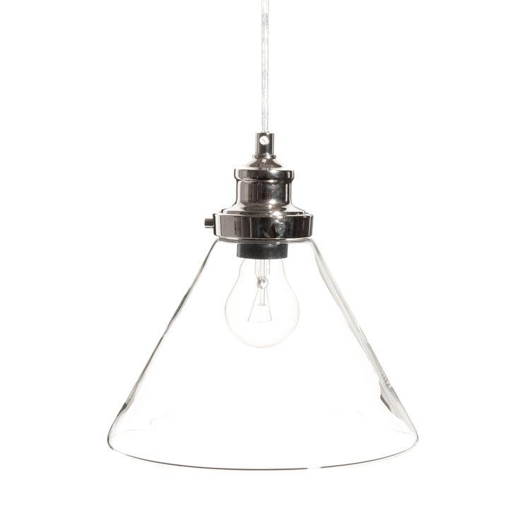 BROCANTEUR glass ceiling light D 23cm