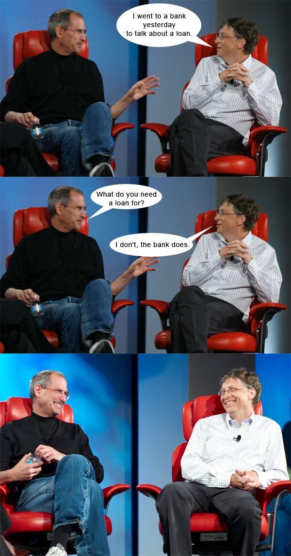 The best of Steve & Bill meme