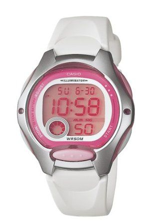 Casio Women's LW200-7AV Digital White Resin Strap Watch: Watches: Amazon.com