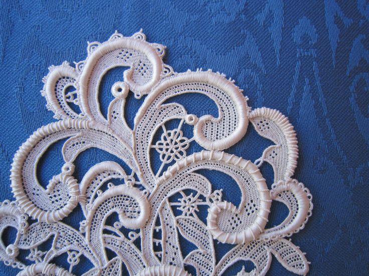 Beautiful example of needle lace....