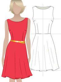 как правильно складывать ткань при раскрое длинной юбки полусолнце - Google Search