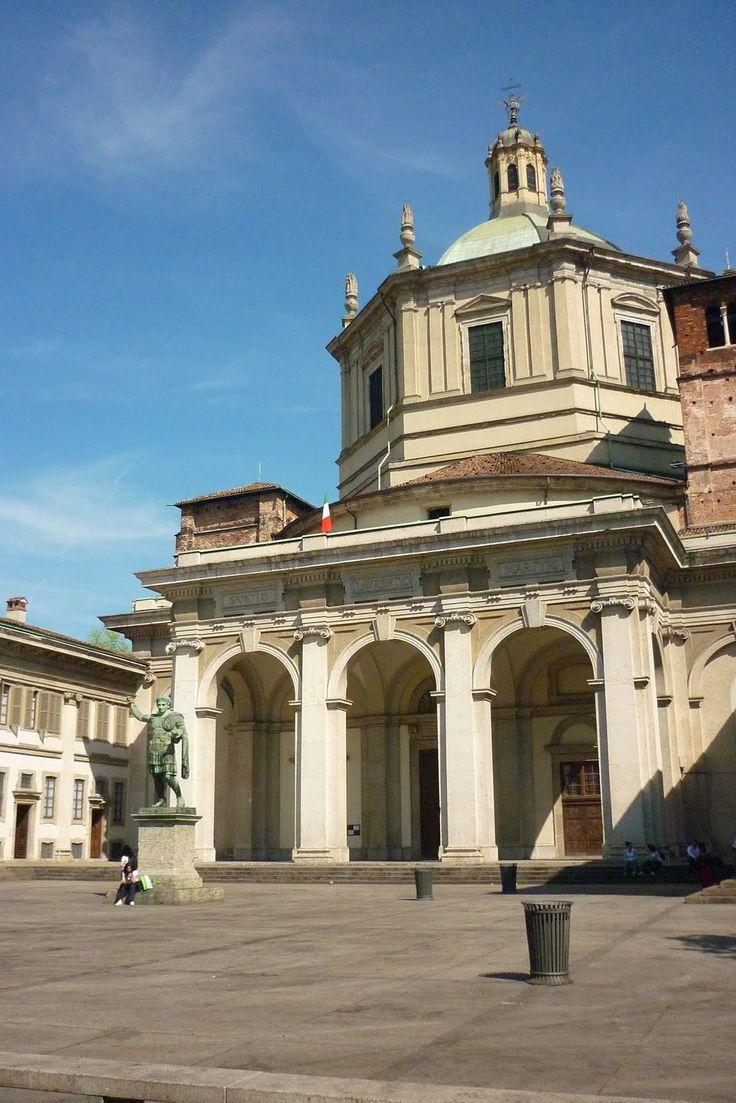 2- vue extérieure saint Laurent de Milan