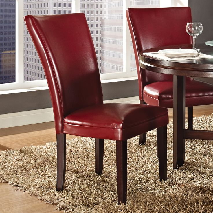 2019 Dark Red Dining Chairs - Modern Affordable Furniture Check more at http://www.ezeebreathe.com/dark-red-dining-chairs/