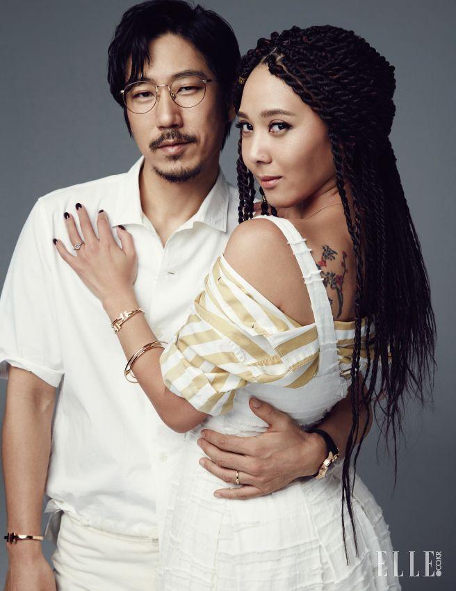 Tiger JK & Yoon Mi-rae // ELLE KOREA
