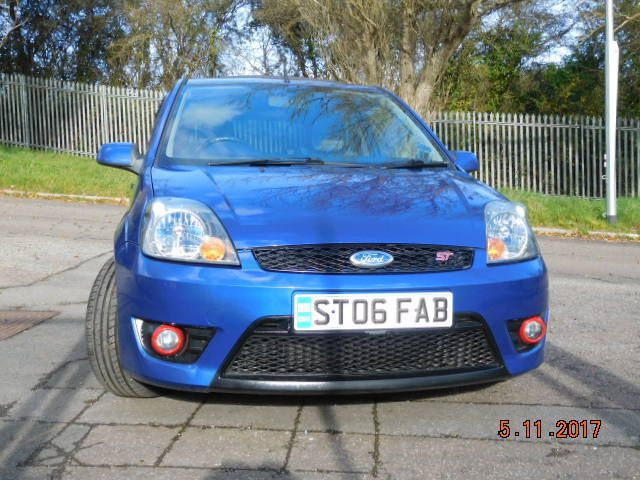 Looking for a ford fiesta mk6 st150 private plate included? This one is on eBay.