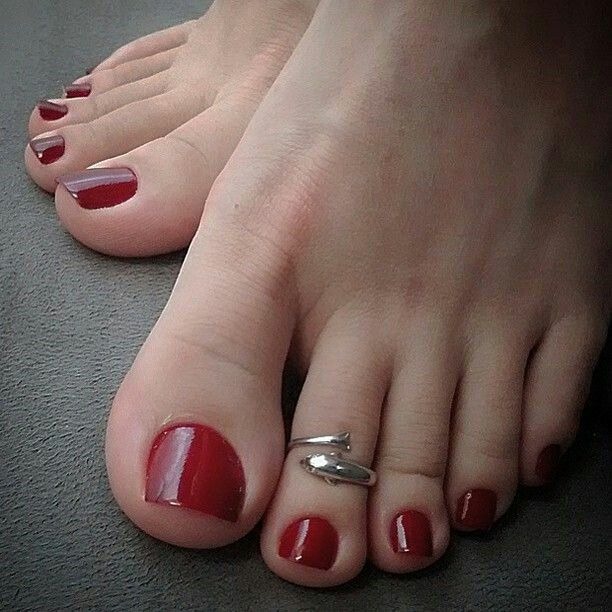 Toe Nail Salon Game For Fashion Girls Foot Nail Makeover: 25+ Unique Red Pedicure Ideas On Pinterest