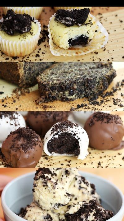 That ingredient you've been missing in your banana bread, cheesecake, truffles and ice cream? Oreos.