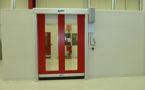 In foot management or automobile traffic by clean rooms or other areas with critical temperature and air quality requirements a high-performance High speed Door in India is definitely your best answer.Nihva Technologies provides Best Door Automation Services and provides best Hanger Door in India, High speed doors in India, Hanger doors in India.
