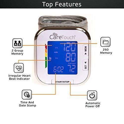 Wrist Blood Pressure Cuff Monitor Automatic Home Use Easy Health Gift Family NEW #WristBloodPressureCuffMonitor