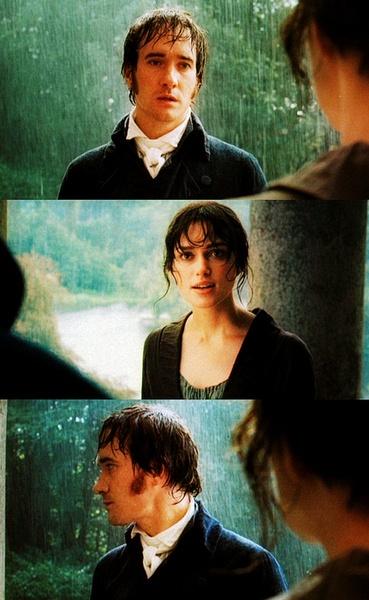 Mr. Darcy and Elizabeth ❤ // Pride and Prejudice