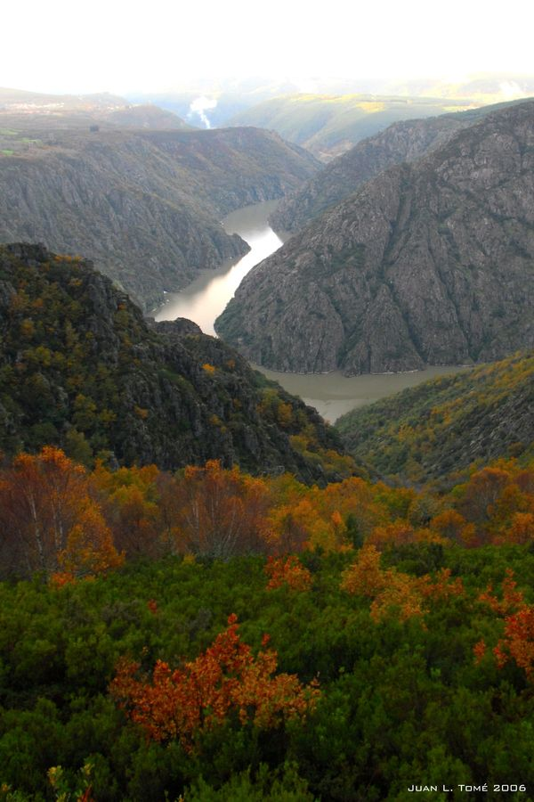Sil River Canyon, Galicia, Spain / España
