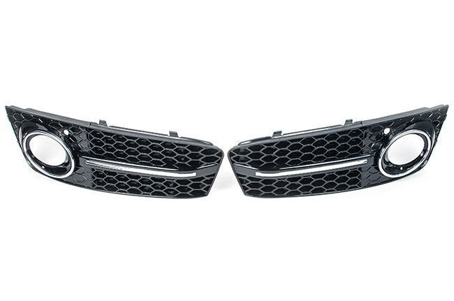 Nice Audi: RS4 Mesh Style Lower Grille: Audi B8 A4 (09-2012)...  Products Check more at http://24car.top/2017/2017/07/10/audi-rs4-mesh-style-lower-grille-audi-b8-a4-09-2012-products/