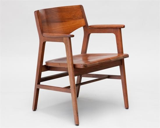 W H Gunlocke Amp Co Walnut Chair 225 This Is Probably The
