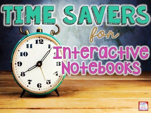 Time Savers for Interactive Notebooks