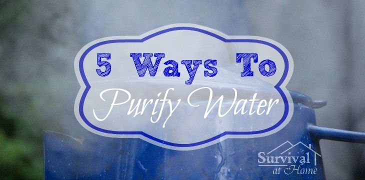 diamond settings  Ways to Purify Water
