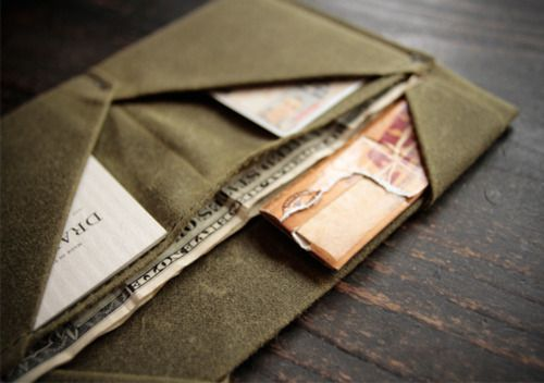 Draught Dry Goods  http://www.draughtshop.com/category/wallets