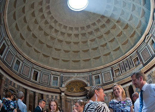 What is it about Roman concrete that keeps the Pantheon and the Colosseum still standing?