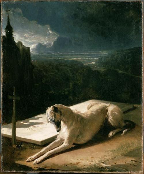 nends Alfred de Dreux (French, 1810-1860), Fidelity, c.1848. Oil on canvas, 46 x 38cm. Musée du Louvre, Paris.