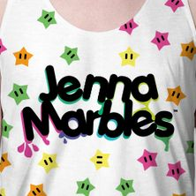 JENNA MARBLES (WILD TEE)  Comedian. Youtube entertainer. Mother of two dogs. Majestic internet creature... And unicorn. #jennamarbles #jennamarblesblog #merch #weloveyoujenna
