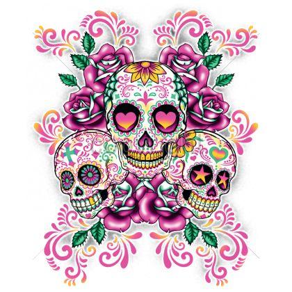 skull wallpaper 133 colorful - photo #41
