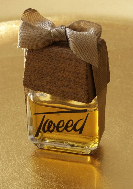 Tweed perfume.  I remember emptying a bottle of this all over my favourite elephant.  My mum went mad!