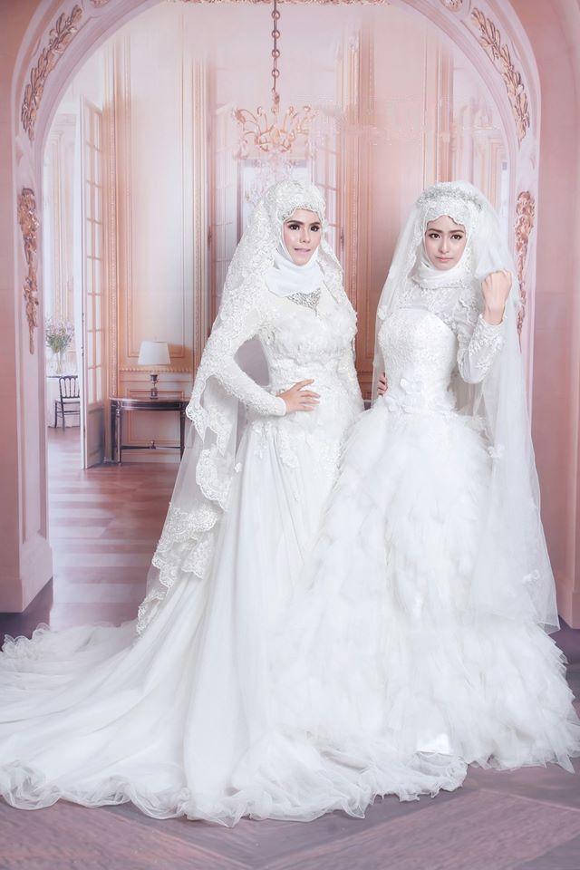 Старинные изысканные многоуровневого оборками белый тюль мусульманские свадебные платья свадебные платья полный рукавом абая мо Dels дубай PCT11