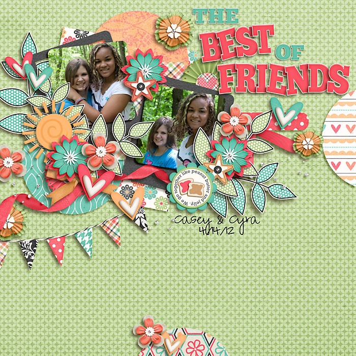 The Best of Friends - Scrapbook.com
