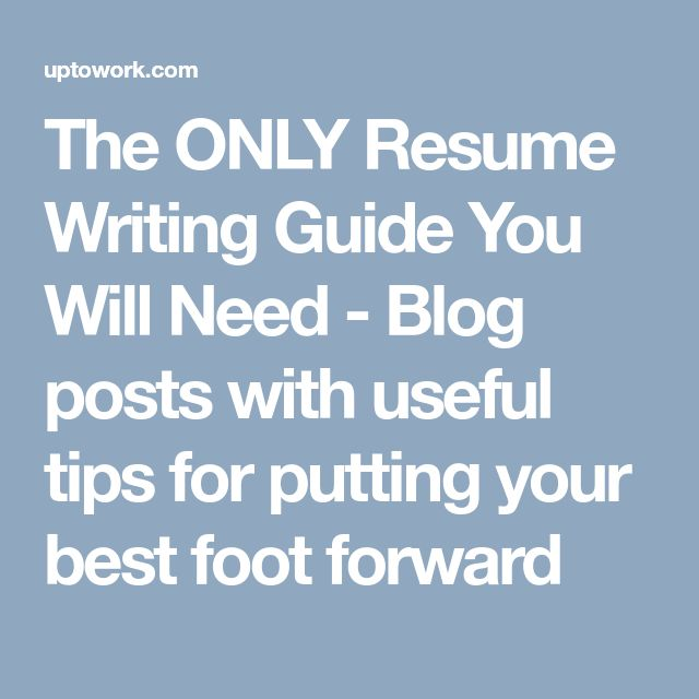 The 25+ best Resume writing ideas on Pinterest Resume ideas - how to resume writing