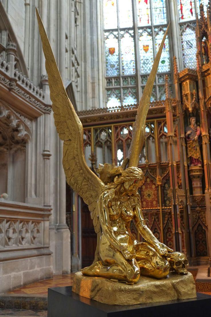 damien hirst the fallen angel