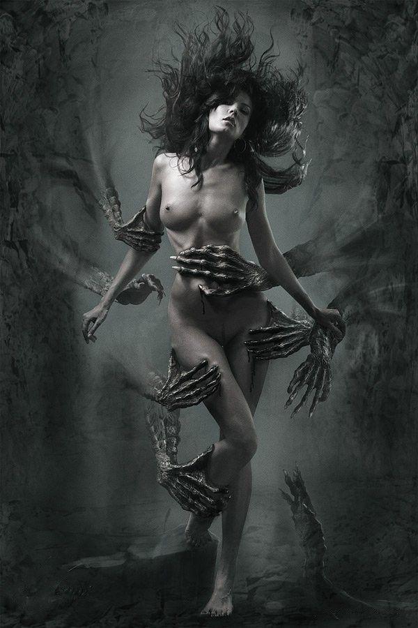 Fantasy art of nude women and men-3114