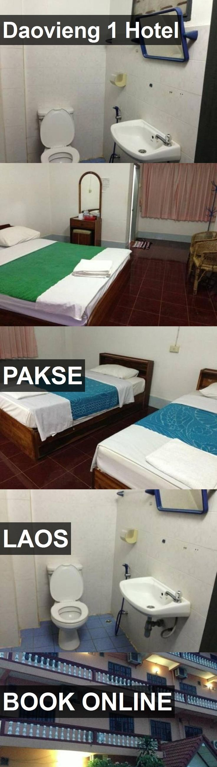 Daovieng 1 Hotel in Pakse, Laos. For more information, photos, reviews and best prices please follow the link. #Laos #Pakse #travel #vacation #hotel