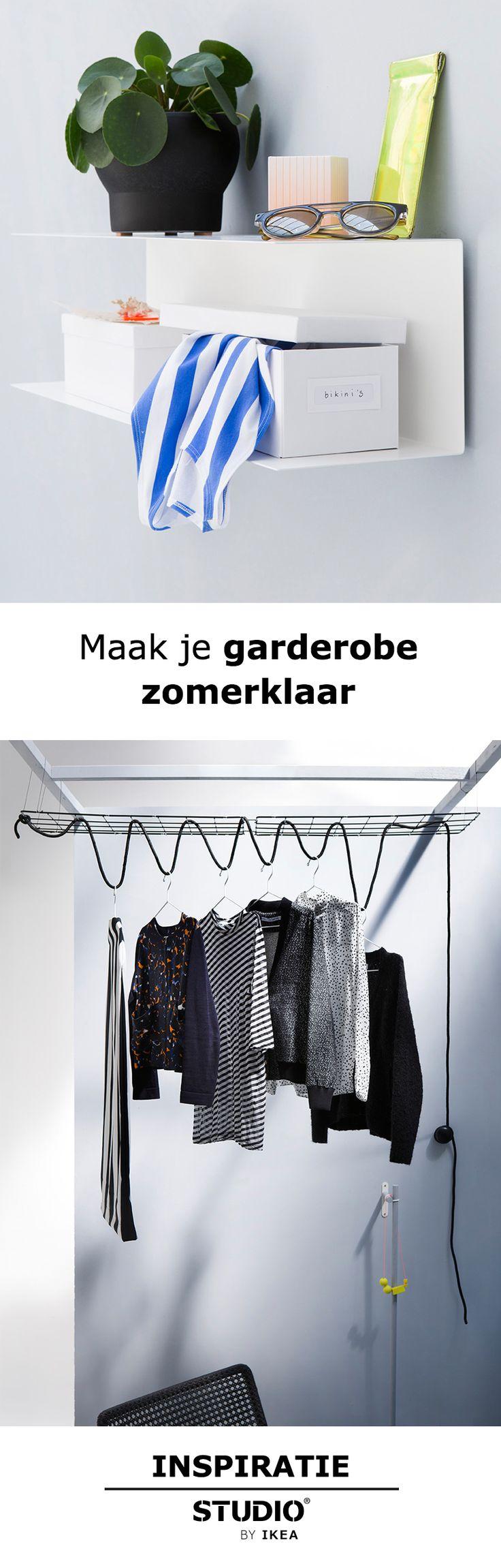 STUDIO by IKEA - Maak je garderobe zomerklaar | #STUDIObyIKEA #IKEA #IKEAnl #zomer #garderobe #kledingkast #tips #tip #opruimen #styling
