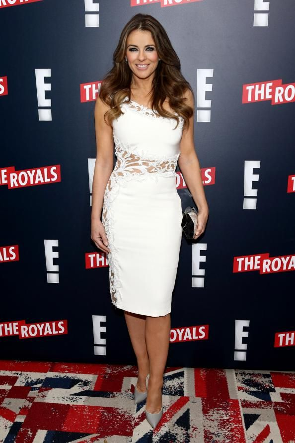 Did Elizabeth Hurley Channel Queen Elizabeth for Her Role in The Royals?  #InStyle