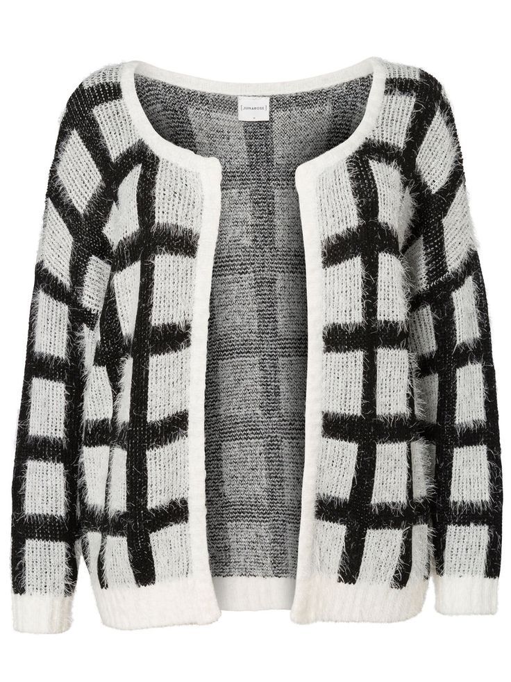 Knitted plus size cardigan from JUNAROSE #junarose #plussize #cardigan #backtoreality Style with skirt and t-shirt