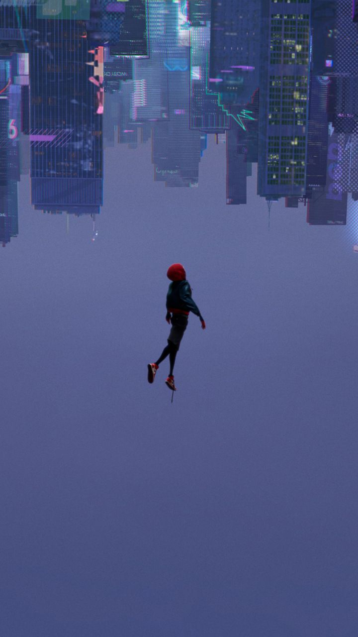 SpiderMan Into the SpiderVerse, 2018 movie, animated