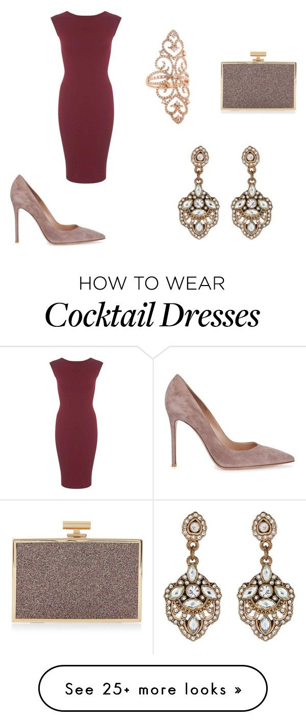 """""""By Ann'Ro"""" by meggy1995 on Polyvore featuring Gianvito Rossi, Monsoon, Miss Selfridge and Accessorize"""