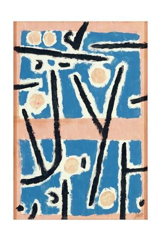 Untitled (Signs of Growth), 1937 Giclee Print by Paul Klee - AllPosters.co.uk
